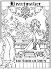 Coloring page heartmaker's shop