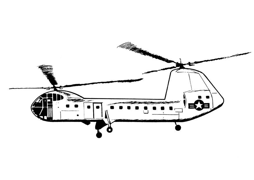 Coloring Page Helicopter Free Printable Coloring Pages