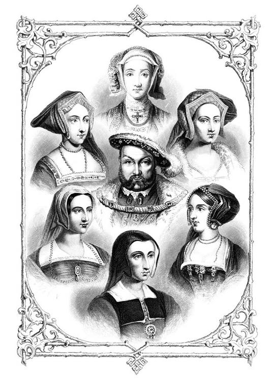 Henry VIII and 6 wives