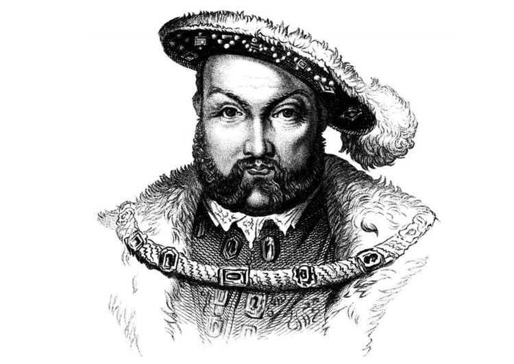 Coloring Page Henry VIII
