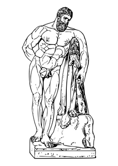 Coloring page Hercules