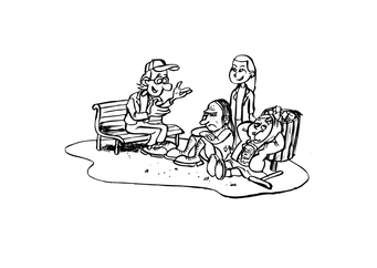 Coloring page hobos