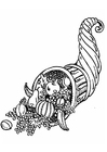 Coloring pages horn