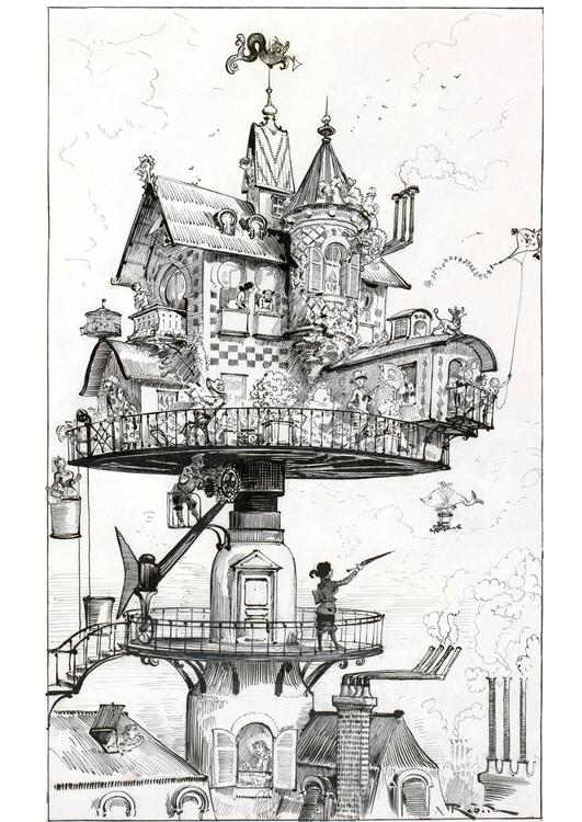 House of the future - 1883