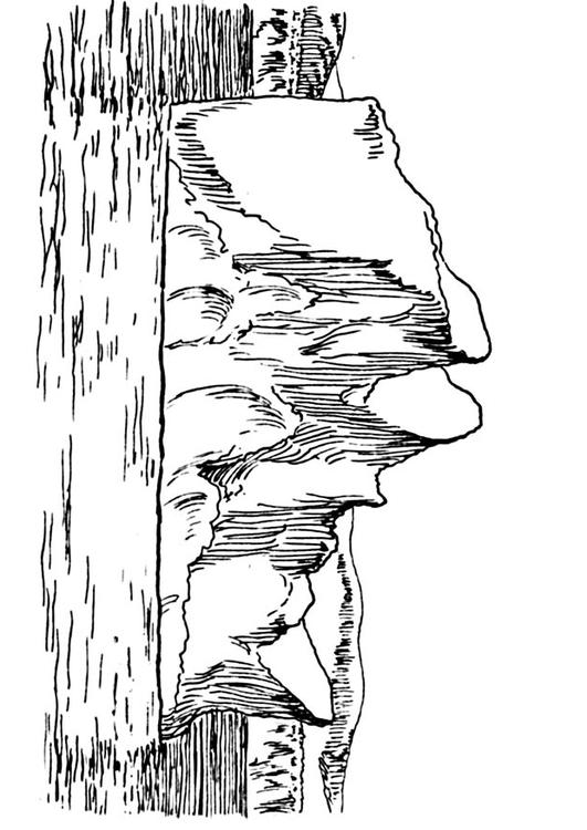 free iceberg coloring pages - photo#3