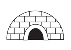 Coloring pages Artic and antarctic life