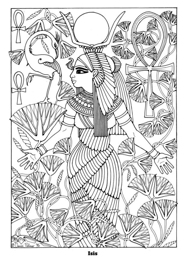 Coloring Page Isis Free Printable Coloring Pages