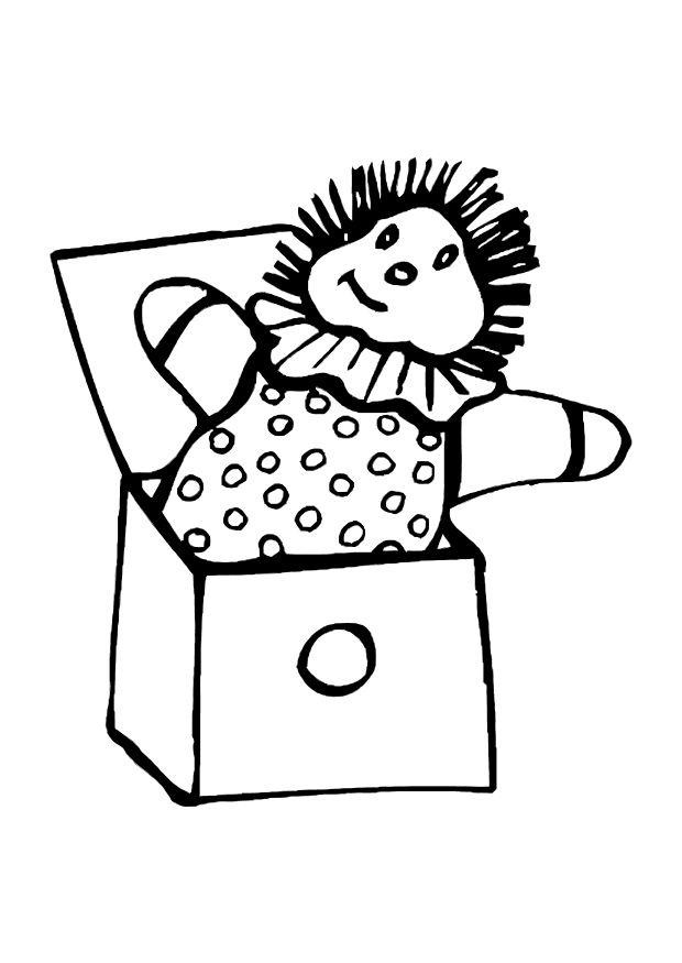 Coloring page jack in the box - img 12068.