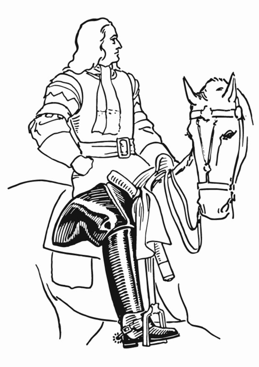 Coloring page jackboot