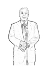 Coloring pages John McCain