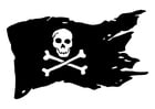 Coloring pages Jolly Roger