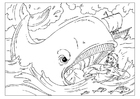 Coloring pages Jonah