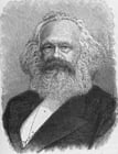 Coloring pages Karl Marx