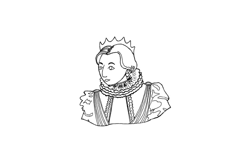 Coloring page king