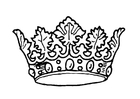Coloring pages King's crown