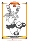 Coloring pages Kung Fu Panda 2