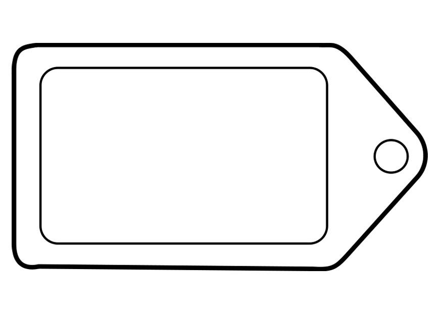 Coloring Page Label  Img