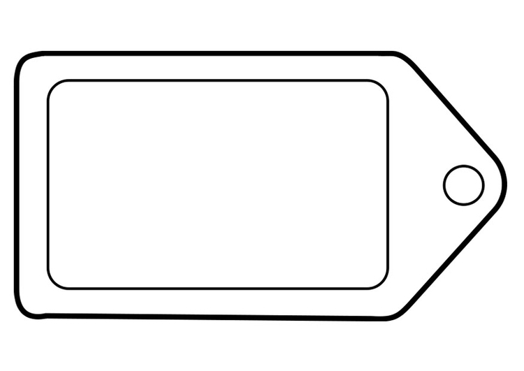 Coloring page label