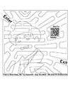 Coloring pages labyrinth - man