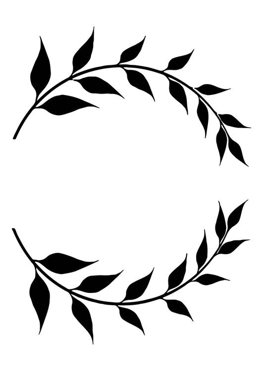 laurel leaf crown