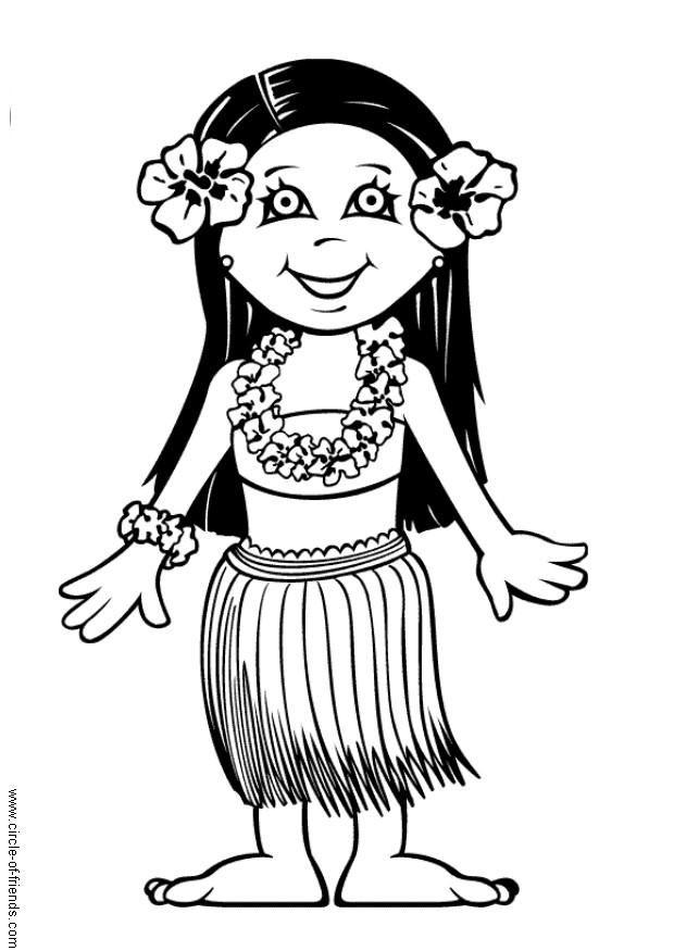 coloring page leilani