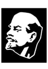 Coloring pages Lenin