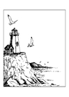 Coloring pages Lighthouse