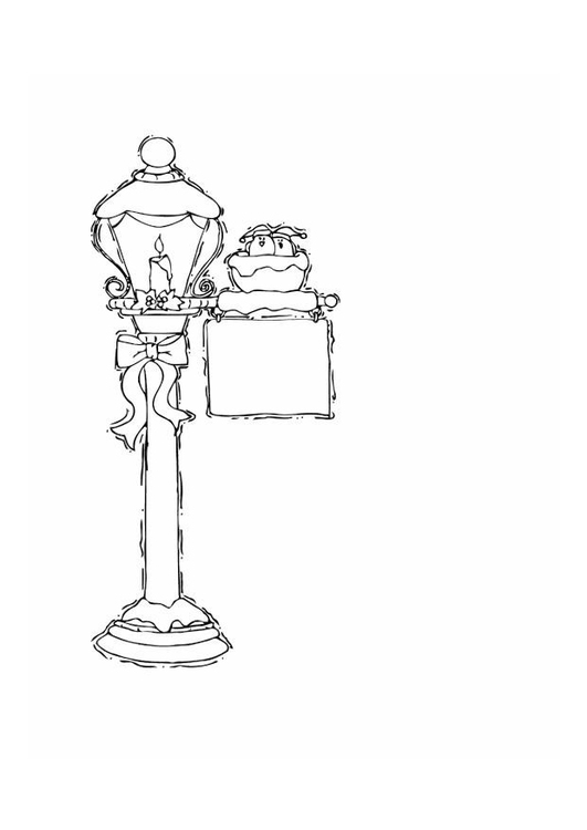 Coloring page lighting
