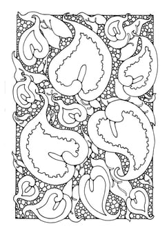 Coloring page lords and ladies