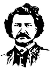 Coloring pages Louis David Riel