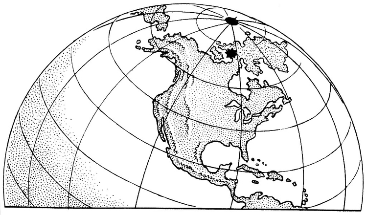 Coloring page magnetic pole