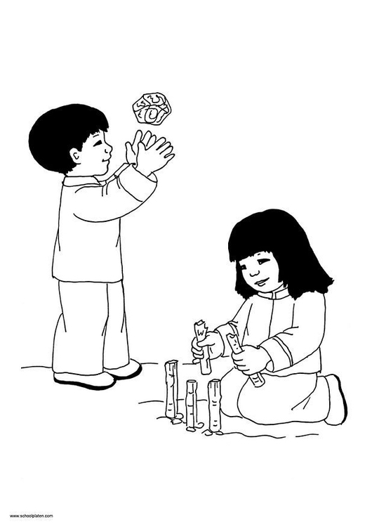 Coloring page Mai picture 11