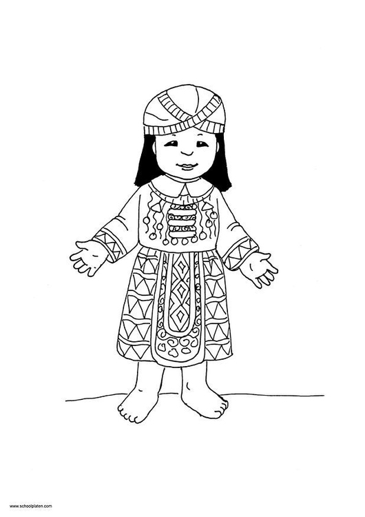 Coloring page Mai picture 9