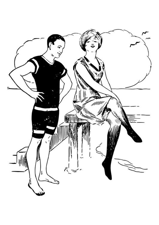 man and woman coloring pages-#10