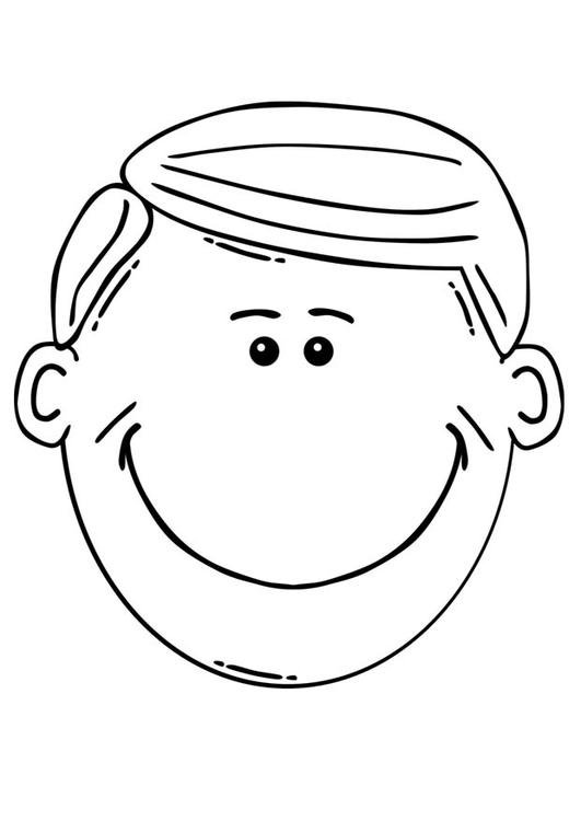 man face coloring pages - photo#32