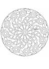 Coloring page mandala-1502j