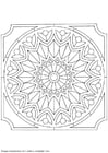 Coloring pages mandala-1502s
