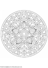 Coloring pages mandala-1602e