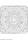 Coloring pages mandala-1602i