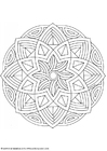 Coloring pages mandala-1602l