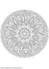 Coloring pages mandala-1702s