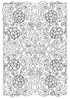 Coloring pages mandala 8a