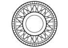 Coloring pages mandala1