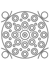 Coloring pages mandala10