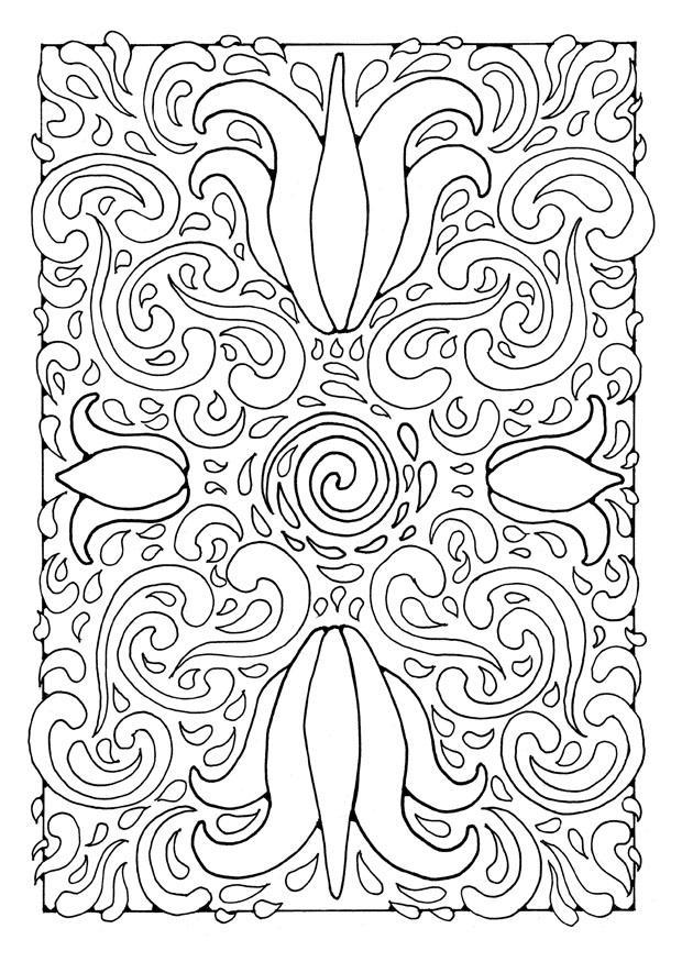 Coloring Page Mandala1a Img 21897 Images