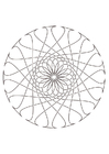 Coloring pages mandala29
