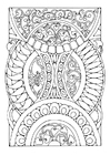 Coloring pages mandala3a