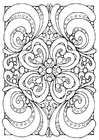 Coloring pages mandala4a