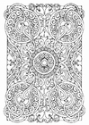 Coloring pages mandala5a