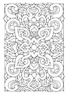 Coloring pages mandala6a